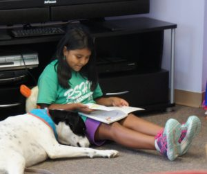 Good Dog Helps Make Good Readers at the LIFE Center